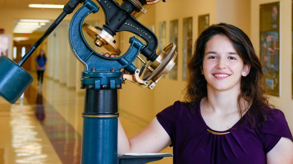 Physics Major Daniela Fontecha