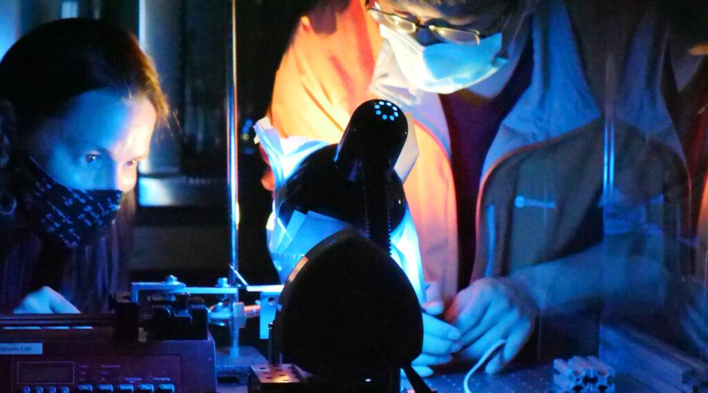 Graduate Research in Dr. Daniels' Lab