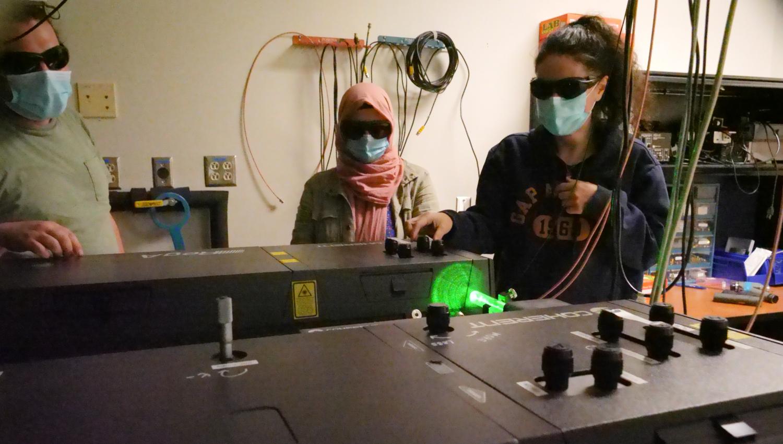 Graduate Reasearch in Dr. Gundogdu's Lab