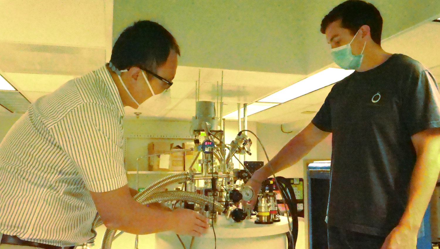 Research in Dr. Sun's Lab